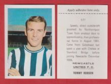 Newcastle United Tommy Robson 177